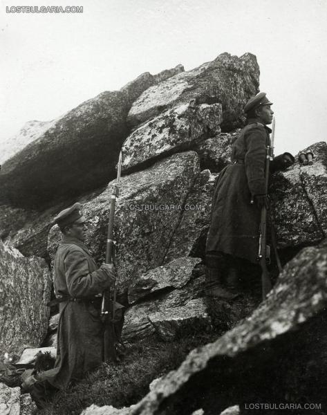 на връх Пелистер, Баба планина, 1917 г., Южния фронт