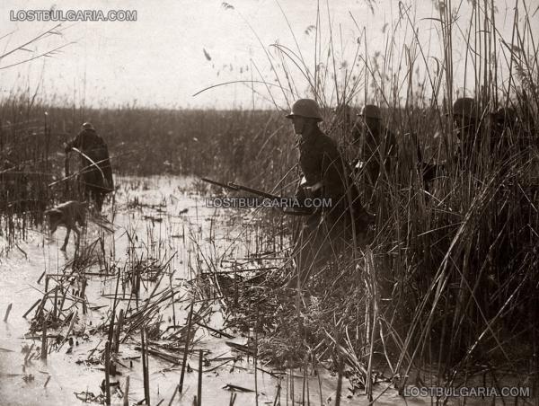 отряд в търсене за залавянето на информатор, 23 ти пехотен Шипченски полк, 1916 г.