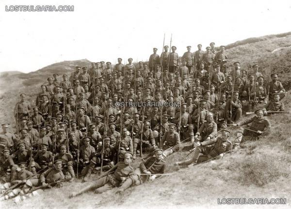 от 11 та пехотна македонска дивизия. ПМВ