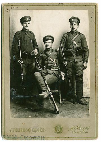 фото болгарских военнослужащих. ПМВ, 24.06.1917