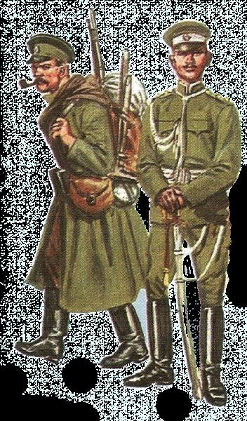 военнослужащие в ПМВ 02