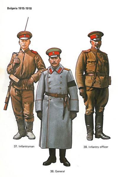 болгарской армии периода ПМВ (1915 1918) 01