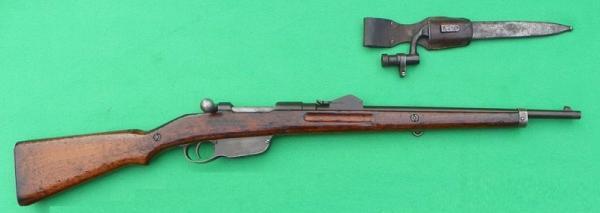 карабин Манлихера обр. 1890 года и эрзац штык к нему 01