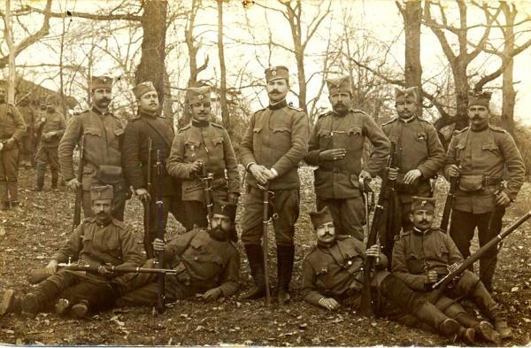 солдаты в ПМВ (1915 год) 01