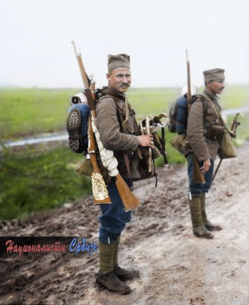солдаты в годы ПМВ 05