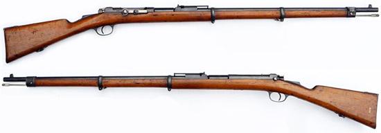 винтовка Маузера Милановича обр. 1880 (1878 80) года 01