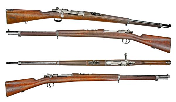 винтовка системы Маузера обр. 1899 года 01
