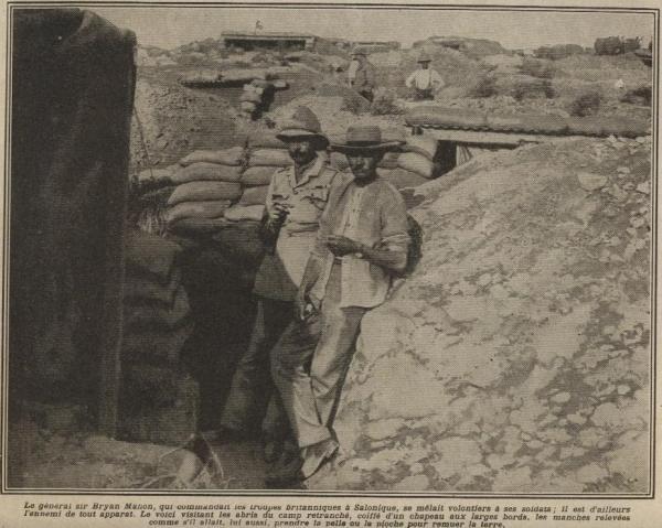 Bryan Mahon at Salonica 1916