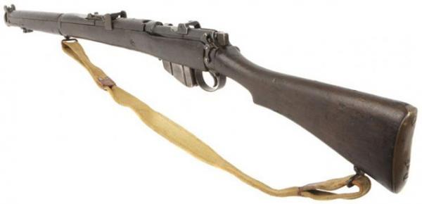 винтовка Lee Enfield SMLE No.1 Mk III(звёздочка) 01