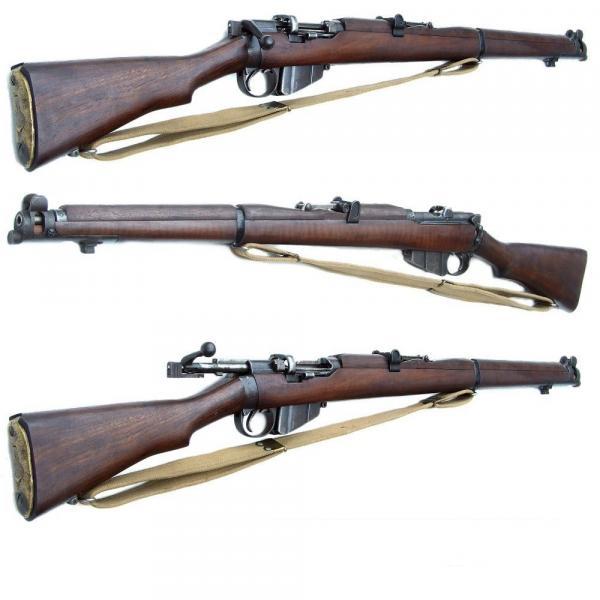 винтовка Lee Enfield SMLE No.1 Mk III(звёздочка) 02