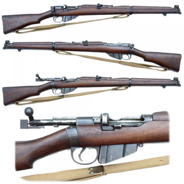 винтовка Lee Enfield SMLE No.1 Mk III(звёздочка) 03