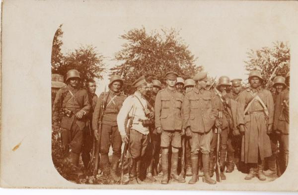 солдаты, пленённые болгарскими войсками. ПМВ (01)