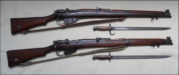 SMLE No.1 Mk.3 & Mk.3х
