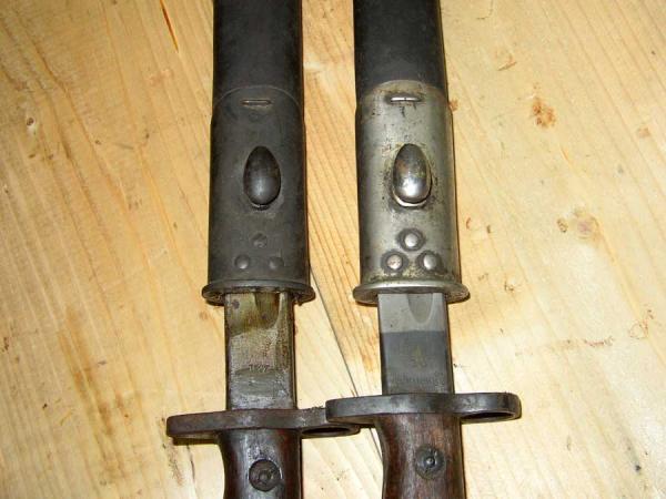 рукоятей и ножен британских штыков обр. 1907 13 года (01)