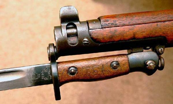 штыка обр. 1907 13 года к магазинной винтовке SMLE №1 Mk. III (01)