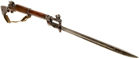 винтовка Enfield P14 (Rifle No.3) со штыком 02