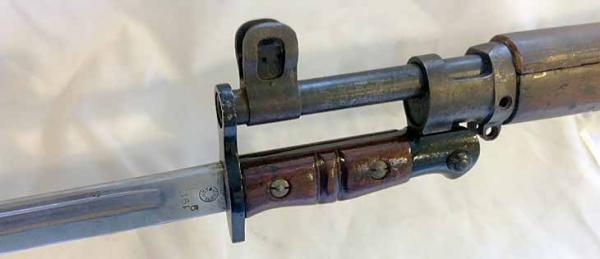 винтовка Enfield P14 (Rifle No.3) со штыком 04