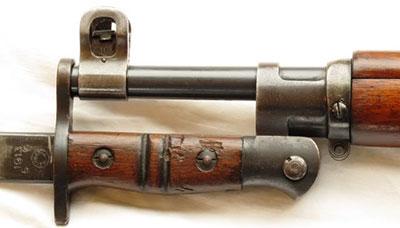 винтовка Enfield P14 (Rifle No.3) со штыком 03