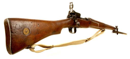 винтовка Enfield P14 (Rifle No.3) со штыком 06