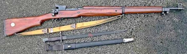винтовка Pattern 1914 Enfield и штык к ней 02