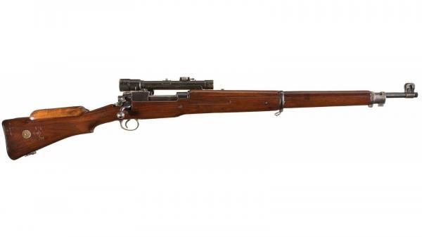 British No. 3 Mk I(звёздочка)(T)(A) Pattern 14 Bolt Action Sniper Rifle