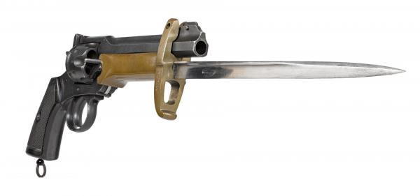Webley Mk VI. Pritchard Greener Bayonet 04