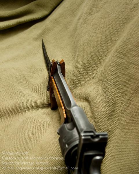 Webley Mk VI. Pritchard Greener Bayonet 13