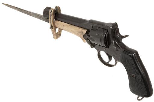 Webley Mk VI. Pritchard Greener Bayonet 05
