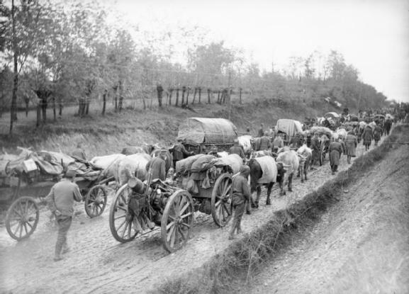 сербской армии в октябре 1915 года. ПМВ 01
