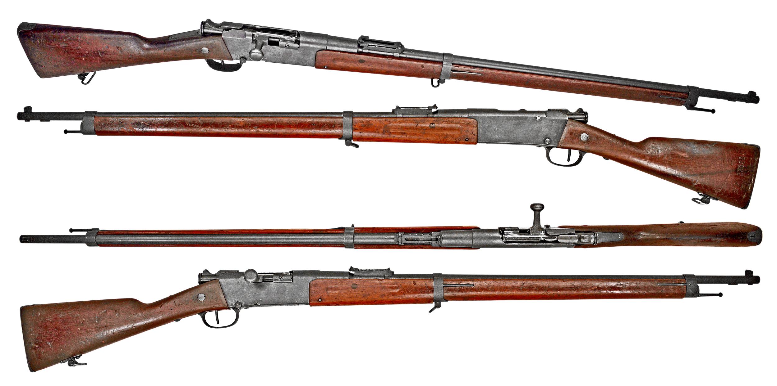 пехотная винтовка Лебеля обр. 1886 93 года (Fusil Mle 1886 Modifié 93) 02