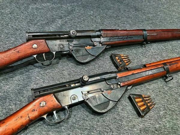 8 мм самозарядная винтовка конструкции Рибейроля, Сюттэ и Шоша обр. 1917 года (RSC Mle 1917) 03