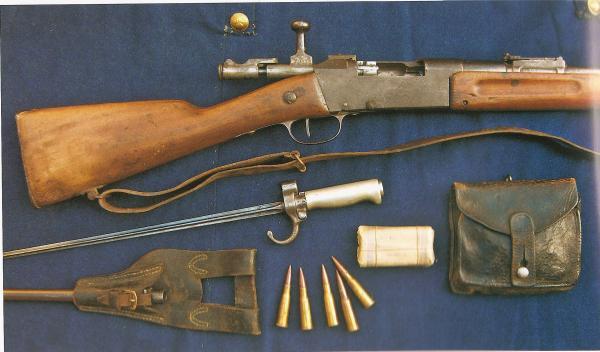 пехотная винтовка Лебеля обр. 1886 93 года (Fusil Mle 1886 Modifié 93) 07