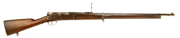 8 мм французская пехотная винтовка Лебеля обр. 1886 года 01