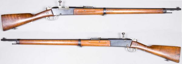 пехотная винтовка Лебеля обр. 1886 93 года (Fusil Mle 1886 Modifié 93) 01