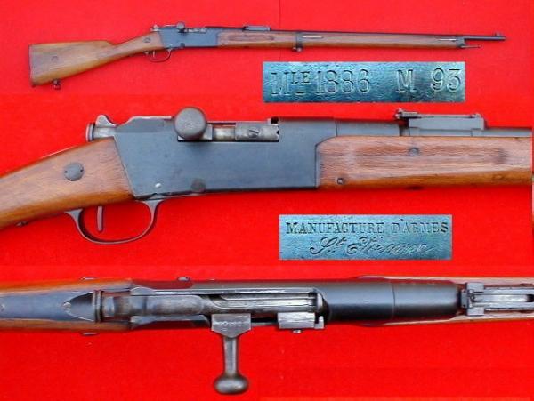 пехотная винтовка Лебеля обр. 1886 93 года (Fusil Mle 1886 Modifié 93) 05