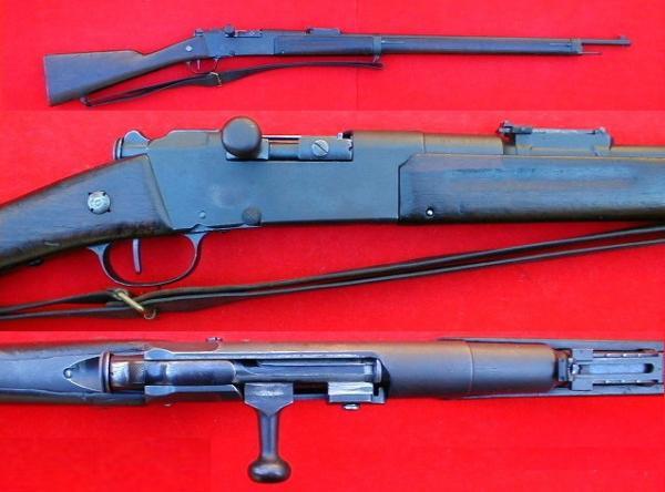 пехотная винтовка Лебеля обр. 1886 93 года (Fusil Mle 1886 Modifié 93) 06