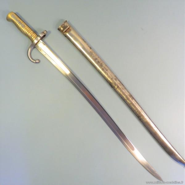 французский обр. 1866 года к винтовке Шасспо обр. 1866 года 11