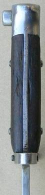 армейский штык к винтовке Манлихер Шёнауэр М1903, переделанный в Болгарии под М1895 05