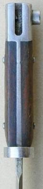 армейский штык к винтовке Манлихер Шёнауэр М1903, переделанный в Болгарии под М1895 04