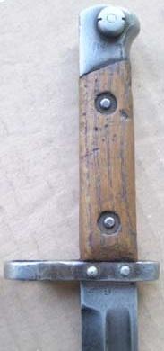 штык к винтовке Манлихер Шёнауэр М1903, переделанный в Болгарии под М1895 03
