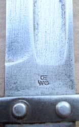 штык к винтовке Манлихер Шёнауэр М1903, переделанный в Болгарии под М1895 09