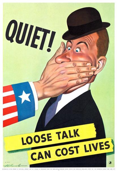 1942. тихий бесполезный разговор может стоить жизни