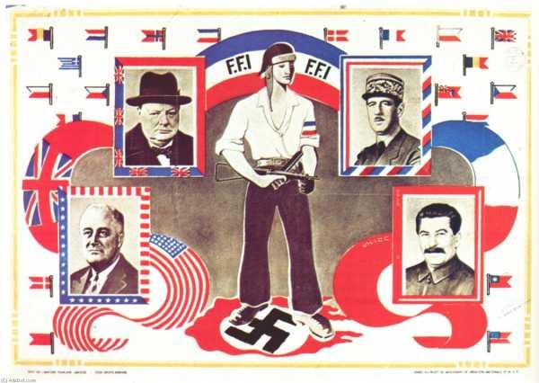 Propaganda ressources histoire affiches politiques   abrupt   f.F.I. 1944