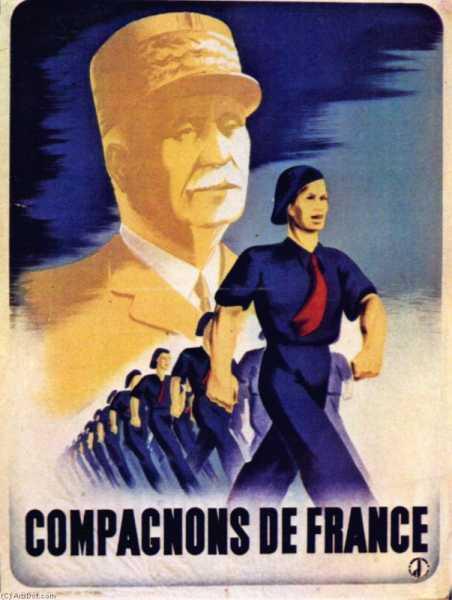 Ads affiches politiques compagnons de france par eric 1941