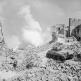 Танк М4 «Шерман» 19-го новозеландского бронетанкового полка ведет огонь в Кассино [2]
