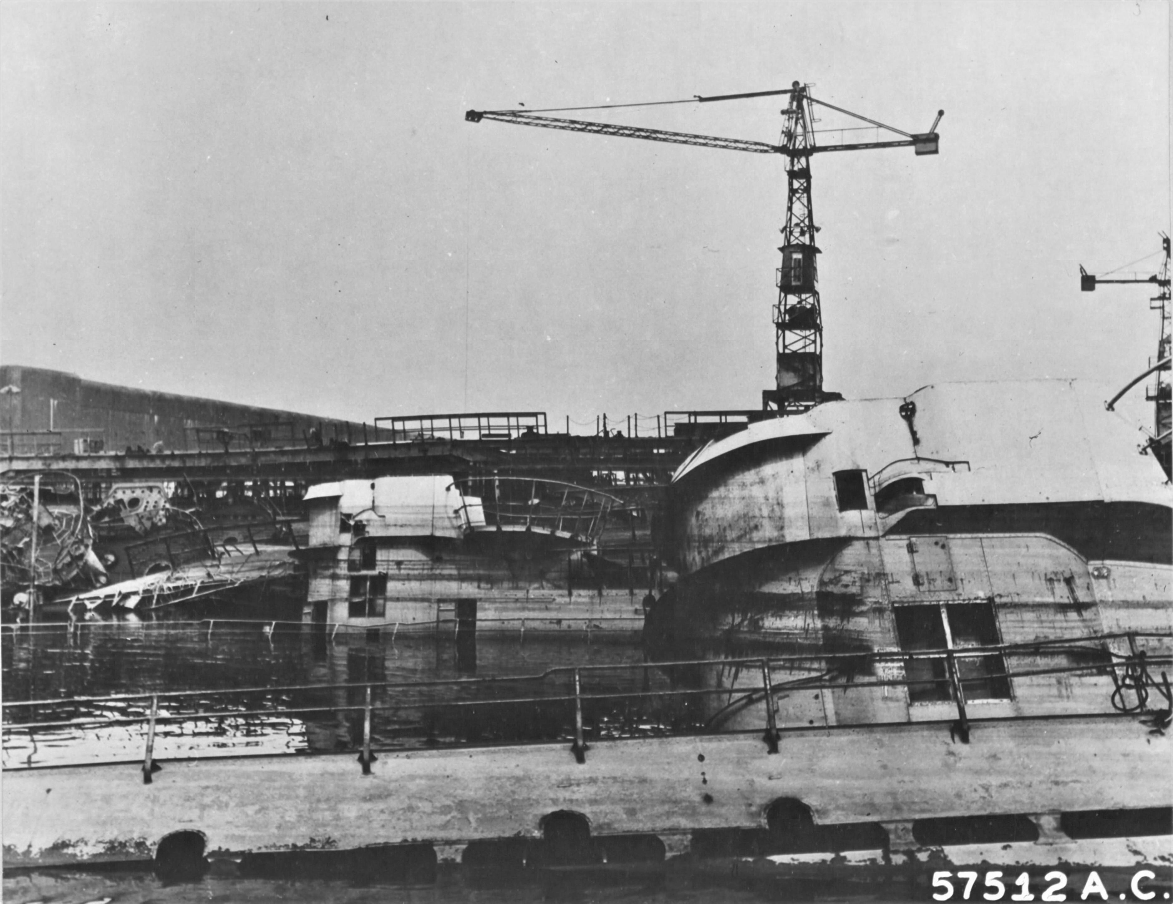 Недостроенные подводные лодки кригсмарине, потопленные в ходе бомбардировок верфи «Дойче Верфт»
