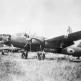 Японский бомбардировщик Мицубиси Ki-67 «Hiryu» на аэродроме