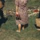 Жительницы Наммеринга у тел заключенных, эксгумированных из общей могилы