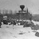 Советские бойцы у разрушенного памятника «Тысячелетие России» в Новгороде [2]