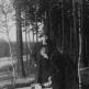 Немецкий физик Отто Хаксель и его секретарь во время бегства в Баварию